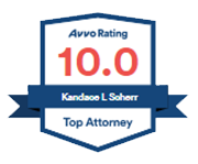 Avvo Rating 10.0 Top Attorney Kandace L. Scherr